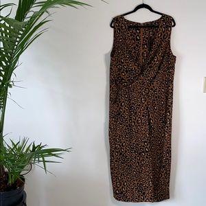 Leopard Wide Leg Jumpsuit